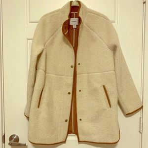 Old Navy Sherpa Faux Suede Lined Jacket